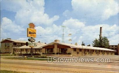 Point Motel - Stevens Point, Wisconsin WI Postcard