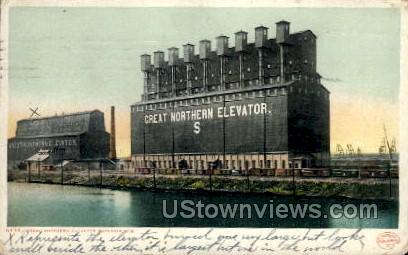 Great Northern Elavator  - Superior, Wisconsin WI Postcard