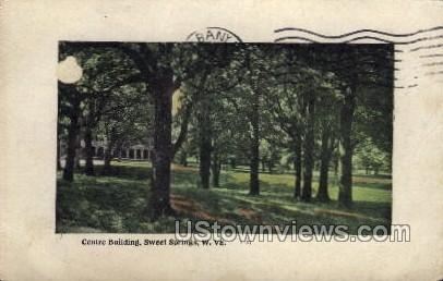 Centre Building - Sweet Springs, Wisconsin WI Postcard