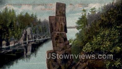 St. Croix River - Misc, Wisconsin WI Postcard