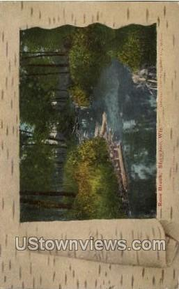 Rose Brook - Shawano, Wisconsin WI Postcard