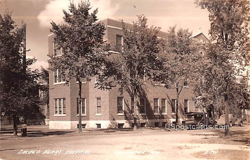 Sacred Heart Hospital - Tomahawk, Wisconsin WI Postcard