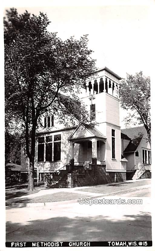 First Methodist Church - Tomah, Wisconsin WI Postcard