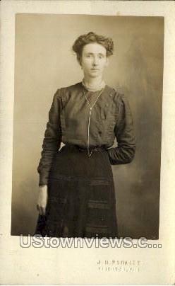J. H. Parfitt - Tigerton, Wisconsin WI Postcard
