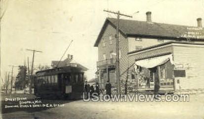 Store & Hotel of G.H. Utech - Schofield, Wisconsin WI Postcard