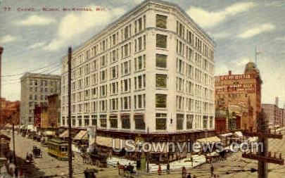 Caswell Block - MIlwaukee, Wisconsin WI Postcard