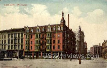 Blatz Hotel - MIlwaukee, Wisconsin WI Postcard