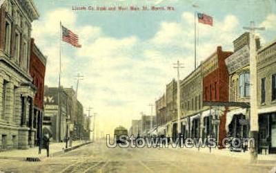 Lincoln Co. Bank - Merrill, Wisconsin WI Postcard