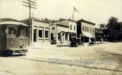 Real Photo - Street Scene - Onalaska, Wisconsin WI Postcard