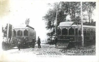 Repro- Sheboygan Falls Junction - Wisconsin WI Postcard