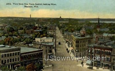 New State Capital - Madison, Wisconsin WI Postcard
