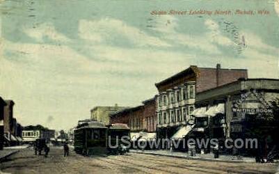 State St. - Beloit, Wisconsin WI Postcard