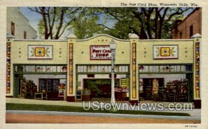 The Shop - Wisconsin Dells Postcards, Wisconsin WI Postcard