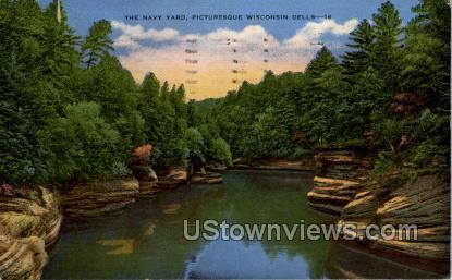 The Navy Yard - Wisconsin Dells Postcards, Wisconsin WI Postcard