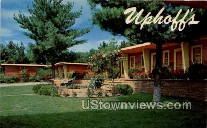 Uphoff's Rotunda Restaurant & Motel - Wisconsin Dells Postcards, Wisconsin WI Postcard