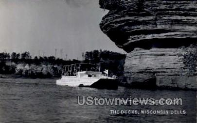 The Ducks - Wisconsin Dells Postcards, Wisconsin WI Postcard
