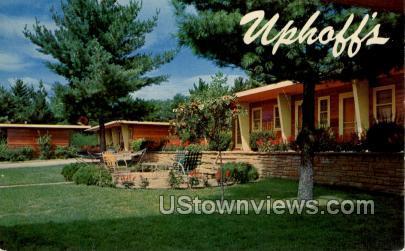 Uphoff's Restaurant  - Wisconsin Dells Postcards, Wisconsin WI Postcard