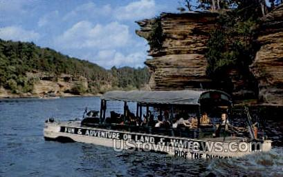 Ride The Ducks - Wisconsin Dells Postcards, Wisconsin WI Postcard