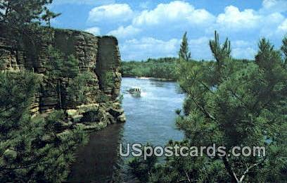 High Rock - Wisconsin Dells Postcards, Wisconsin WI Postcard