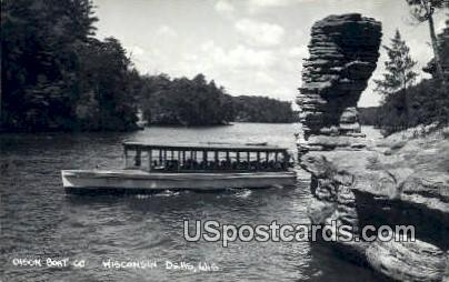 Olson Boat Co - Wisconsin Dells Postcards, Wisconsin WI Postcard