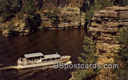 Upper Dells - Wisconsin Dells Postcards, Wisconsin WI Postcard