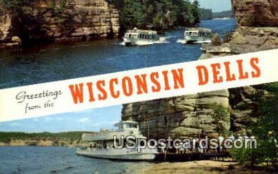 Wisconsin Dells, Wisconsin     ;     Wisconsin Dells, WI - Wisconsin Dells Postcards Postcard