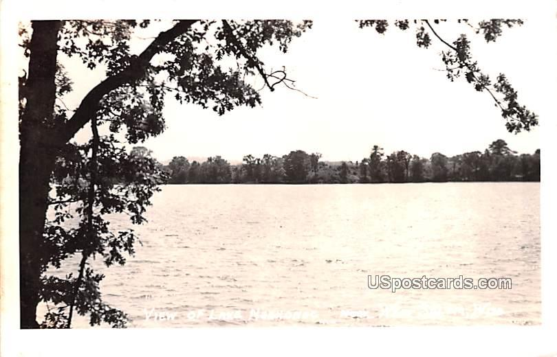 View of Lake Neshonoc - West Salem, Wisconsin WI Postcard