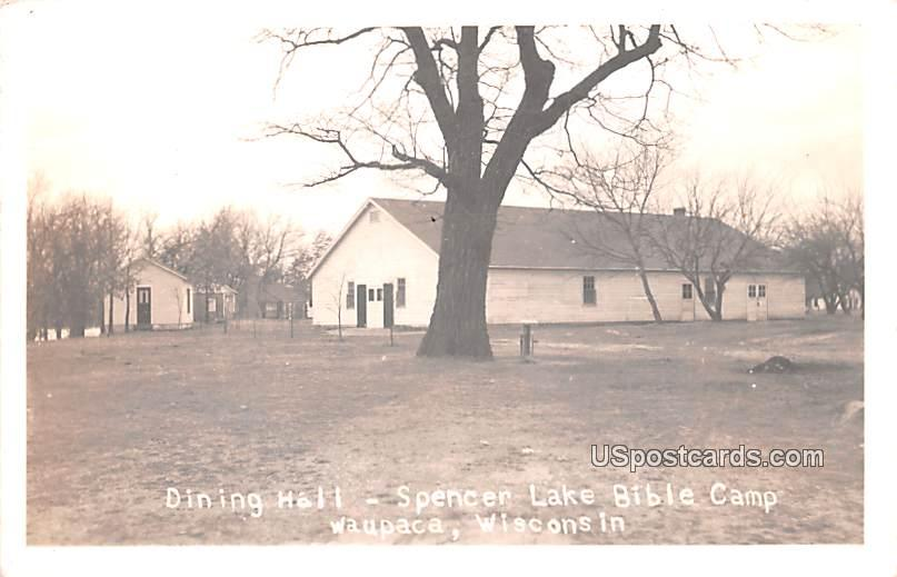 Dining Hall - Waupaca, Wisconsin WI Postcard