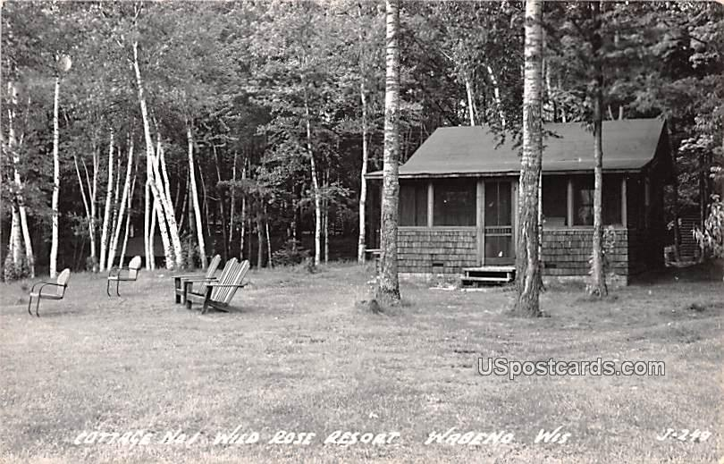 Cottage No 1 - Wabeno, Wisconsin WI Postcard