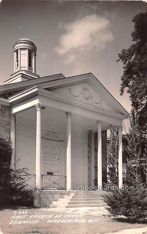 First Church of Christ Scientist - Wauwatosa, Wisconsin WI Postcard