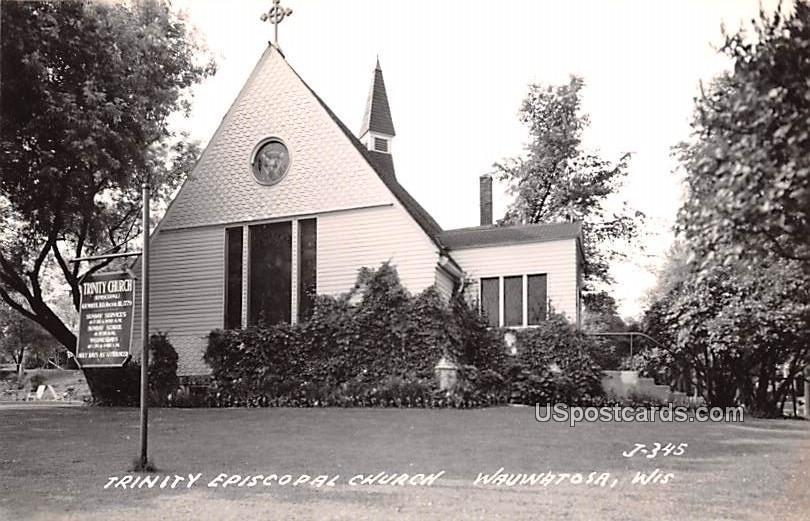 Trinity Episcopal Church - Wauwatosa, Wisconsin WI Postcard