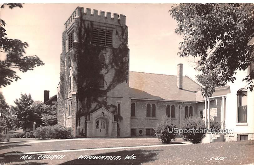 ME Church - Wauwatosa, Wisconsin WI Postcard