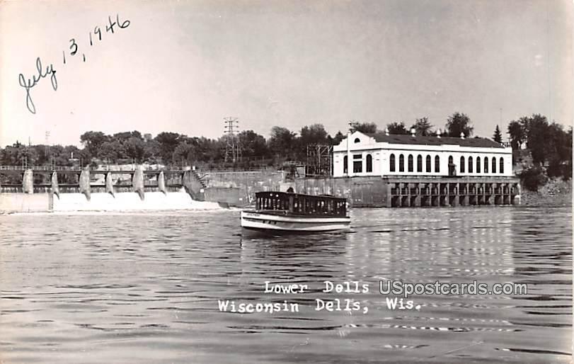 Lower Dells - Wisconsin Dells Postcards, Wisconsin WI Postcard