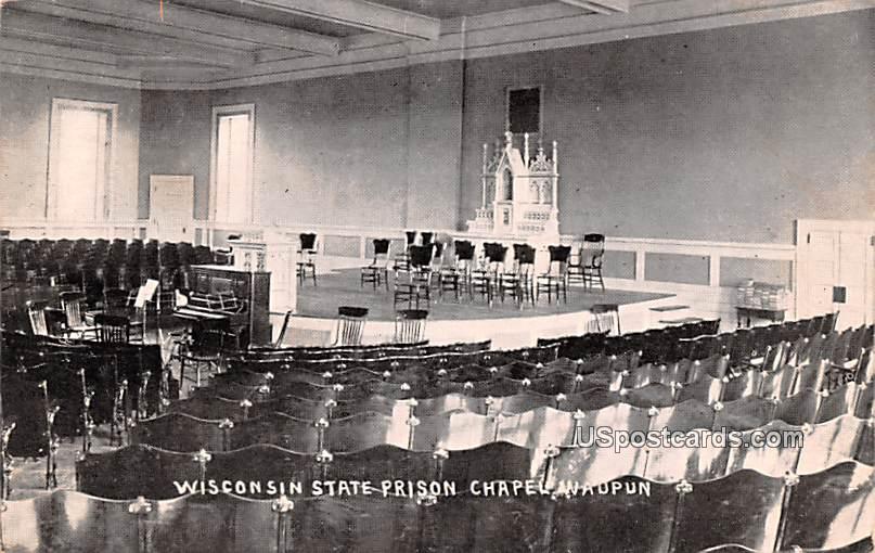 Wisconsin State Prison Chapel - Waupun Postcard