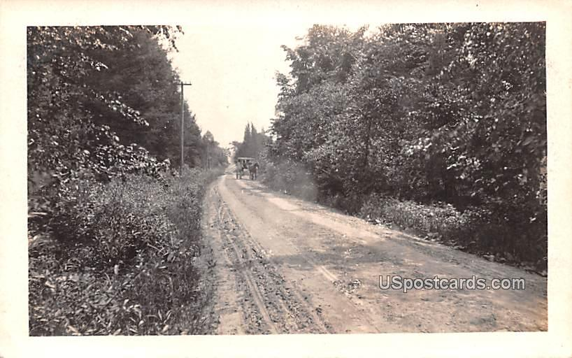 Dirt Road - Waubeka, Wisconsin WI Postcard