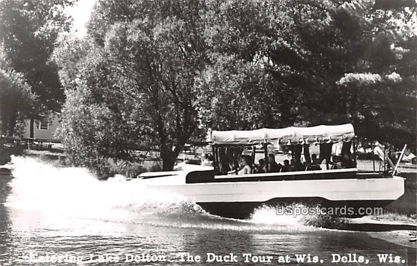 Entering Lake Delton - Wisconsin Dells Postcards, Wisconsin WI Postcard