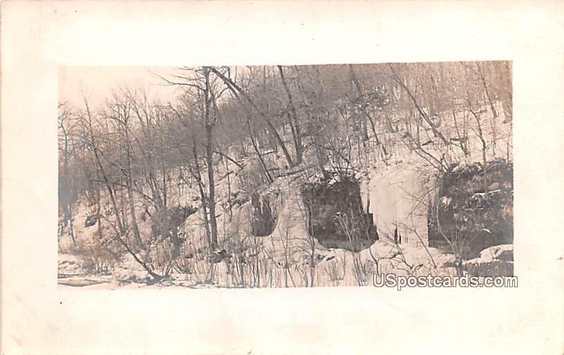 Winter Scene - Westby, Wisconsin WI Postcard