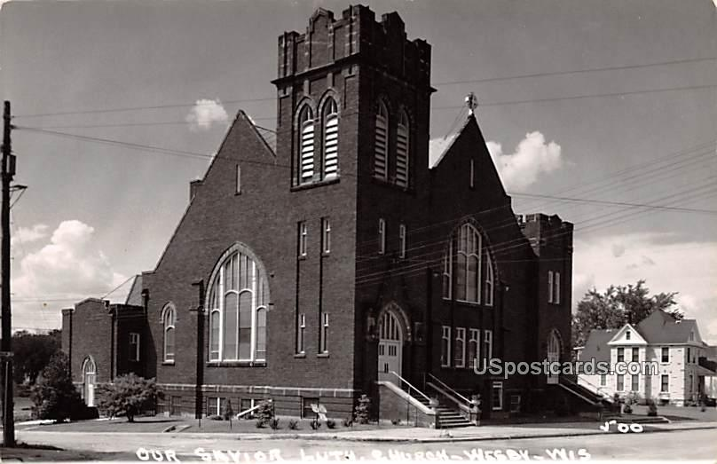 Our Savior Lutheran Church - Wesby, Wisconsin WI Postcard