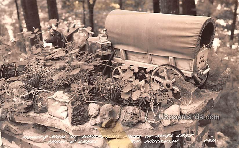 Pioneer Mail at Whispering Pines - Waupaca, Wisconsin WI Postcard