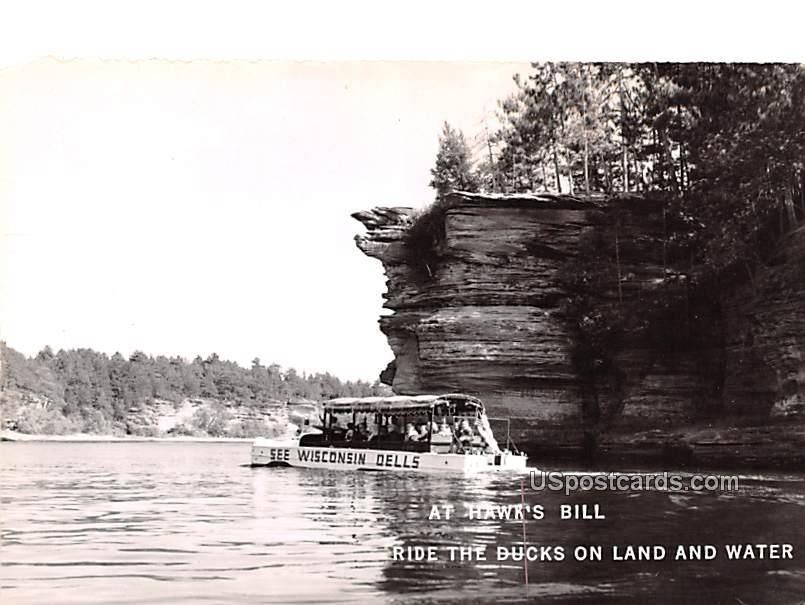 Ride the Ducks on Land and Water - Wisconsin Dells Postcards, Wisconsin WI Postcard