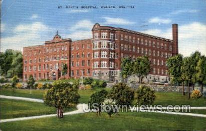 St. Mary's Hospital - Wausau, Wisconsin WI Postcard