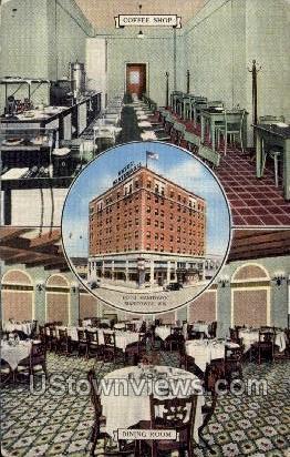 Hotel Manitowoc - Wisconsin WI Postcard