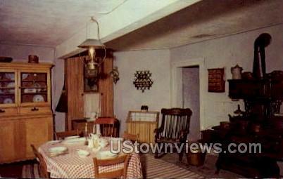 Basement Kitchen - Watertown, Wisconsin WI Postcard