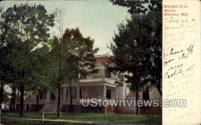 Wausau Club House - Wisconsin WI Postcard