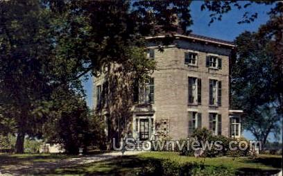 Octagon House - Watertown, Wisconsin WI Postcard
