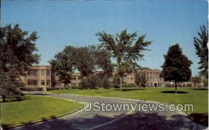 Veterans Administration Center - Wood, Wisconsin WI Postcard