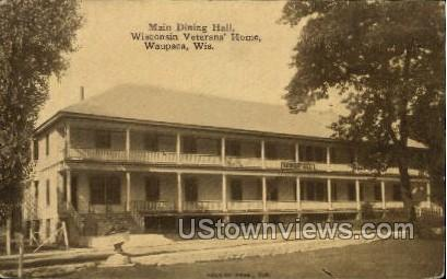 Wisconsin Veterans' Home - Waupaca Postcard