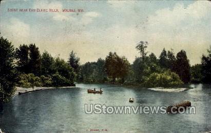 Eau Claire Villa  - Wausau, Wisconsin WI Postcard