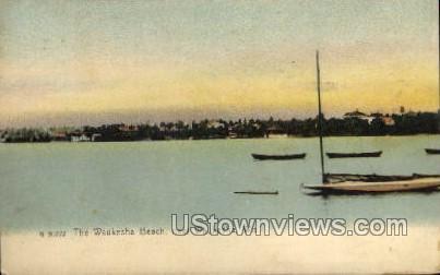 The Waukesha Beach - Wisconsin WI Postcard