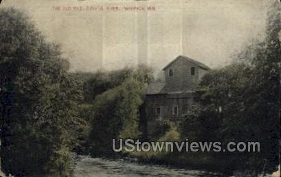The Old Mill - Waupaca, Wisconsin WI Postcard